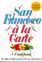San Francisco A La Carte