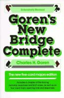 Goren's New Bridge Complete