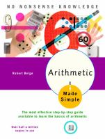 Arithmetic Made Simple