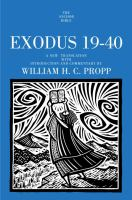 Exodus 19-40