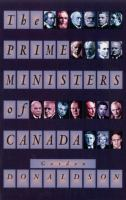 The Prime Ministers of Canada