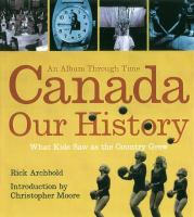 Canada - Our History