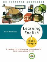 Learning English Made Simple