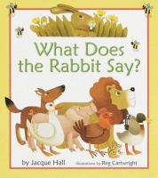 What Does the Rabbit Say?