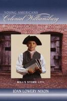 Will's Story: 1771