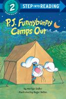 P.J. Funnybunny Camps Out