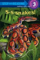 S-s-snakes!