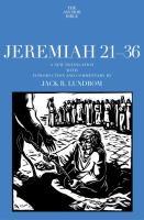 Jeremiah 21-36