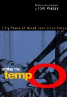 Setting the Tempo