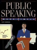 Public Speaking Made Simple