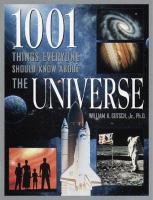 1001 Things Everyone Should Know About the Universe