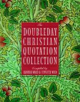 The Doubleday Christian Quotation Collection