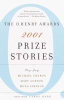 Prize Stories 2002