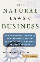 The Natural Laws of Business
