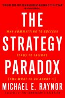 The Strategy Paradox