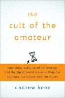 The Cult of the Amateur