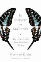 In Pursuit Of Elegance