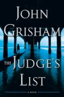 The Judge's List : A Novel.