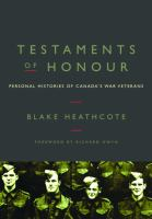 Testaments of Honour