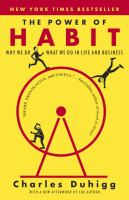Book Club Kit : The Power of Habit : Why We Do What We Do in Life and Business