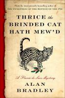 Thrice the Brinded Cat Hath Mew'd