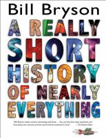 A Really Short History of Nearly Everything