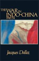 The War in Indo-China 1945-54