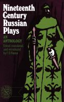 Nineteenth-century Russian Plays