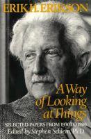 A Way of Looking at Things