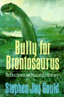 Bully for Brontosaurus