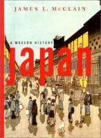 Japan, A Modern History