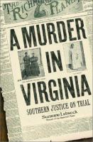 A Murder in Virginia