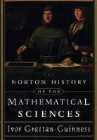 The Norton History of the Mathematical Sciences