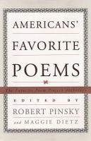 Americans' Favorite Poems