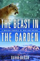 The Beast in the Garden