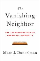 The Vanishing Neighbor