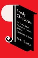 Image: Shady Characters