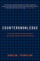 Counterknowledge