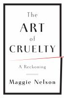 The Art of Cruelty