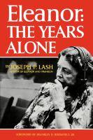 Eleanor: the Years Alone