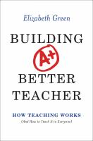 Building A+ Better Teacher