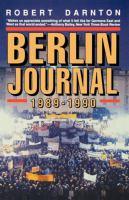 Berlin Journal