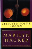 Selected Poems, 1965-1990