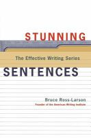 Stunning Sentences