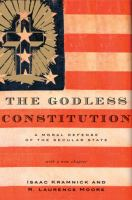 The Godless Constitution