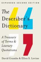 The Describer's Dictionary