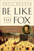 Be Like the Fox