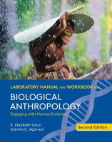 Biological Anthropology (Lab + Workbook - 2nd)
