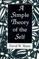 A Simple Theory of the Self