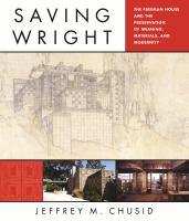 Saving Wright